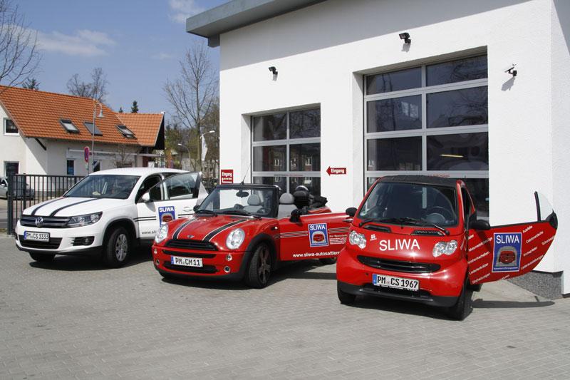 SLIWA Expertise und Service - Werkstattwagen